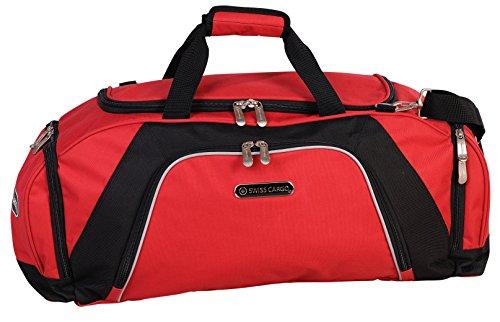 swiss-cargo-rhine-26-inch-duffel-red-black-checked-medium