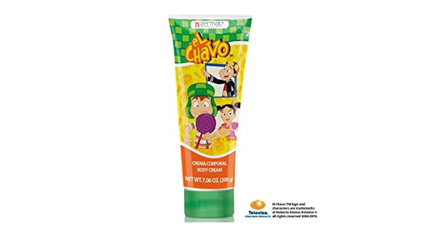 Amazon.com: El Chavo Body Cream 7.05oz, Crema Para Cuerpo El Chavo: Health & Personal Care