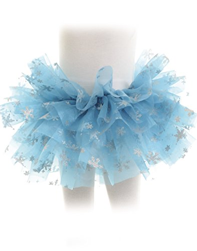 Underwraps Girls Snowflake Tutu Costume (Diy Tutu Halloween Costumes)