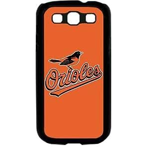 MLB Major League Baseball Baltimore Orioles Samsung Galaxy S3 SIII I9300 TPU Soft Black or White case (Black)Kimberly Kurzendoerfer