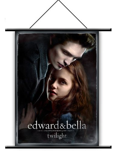 NECA Twilight Edward and Bella Wall Scroll