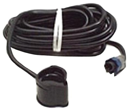 Lowrance PD-WBL Trolling Motor-Mount or Shoot Thru-Hull Transducer, 200-Kilohertz (Hull Plastic Thru Transducer Mount)