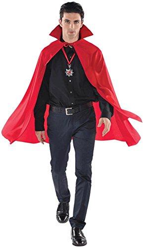 [Mid-Length Cape Costume Accessory] (Red Devil Child Costume)