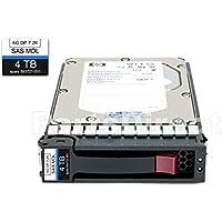 HP 693689-B21 - HP 4TB 6G SAS 7.2K RPM LFF (3.5-INCH) MIDLINE HARD DRIVE (Certified Refurbished)