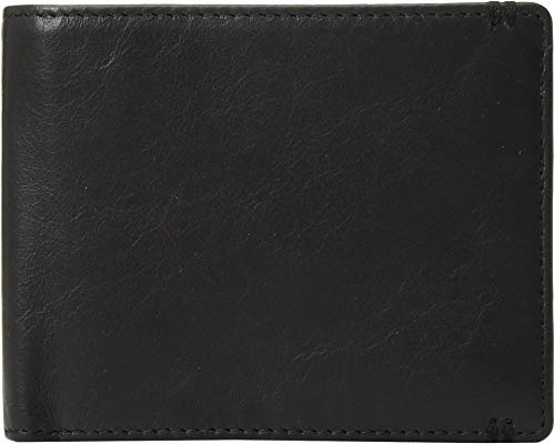Lodis Accessories Men's Topanga RFID Classic Billfold w/ID Window Black One Size ()