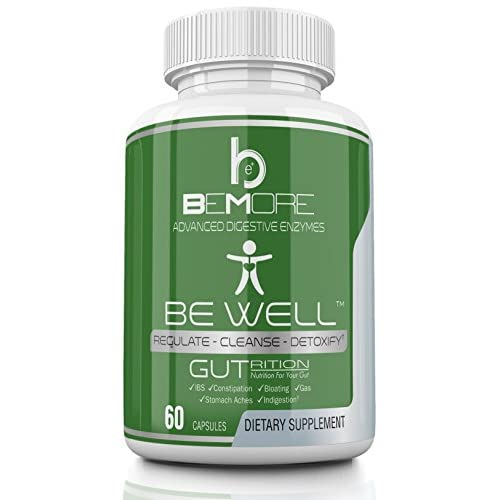 BE WELL Best Digestive Enzyme Supplement Improve Digestion, Relieve Indigestion IBS & Constipation with 17 Plant Enzymes – Lactase, Amylase Lipase Bromelain Papain & Protease 60 Capsules 41sFjwUXaoL  Home Page 41sFjwUXaoL