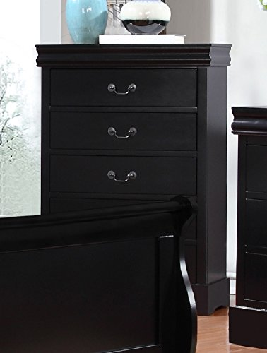 Cheap  Major-Q Sh52318ch Antique Black Finish Dresser for Bedroom
