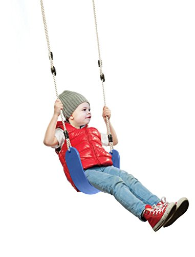 Summersdream Soft Seat Child Swing Playground Swing Set Accessories Replacement (blue)