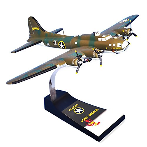 Mastercraft Collection Boeing B-17F Flying Fortress Red Gremlin World War II Bomber USAAF Army Air Forces Royal Air Force Plane Aircraft Airplane Model Scale:1/62 ()