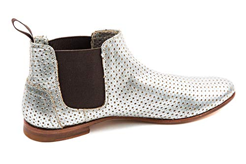 Silver Hamilton Polly Boots Silver 3 Melvin amp; Chelsea Womens wzqnTv6Pv