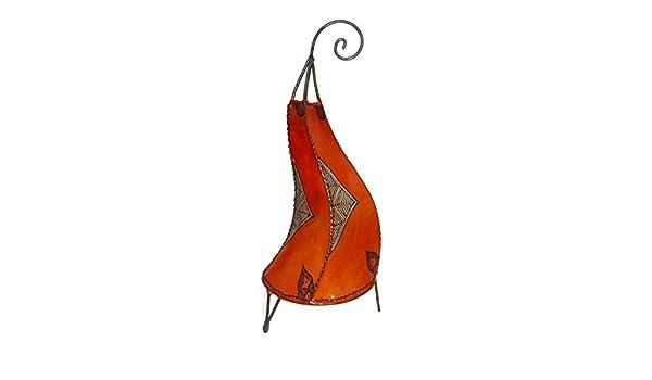 Lámpara de henna marroquí lámpara oriental de cuero ...