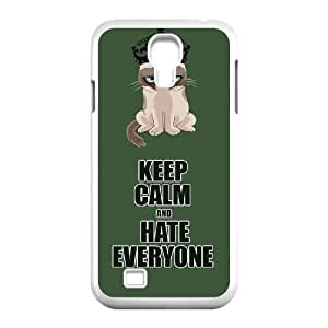 Grumpy cat CUSTOM Cover Case for SamSung Galaxy S4 I9500 LMc-90110 at LaiMc