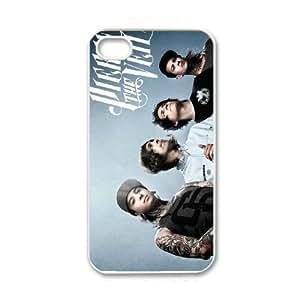 iPhone 4 4s White Cell Phone Case Pierce The Veil TGKG595808