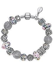 Mestige MSCB3058 Rhodium Plated Invigorating Bracelet for Women