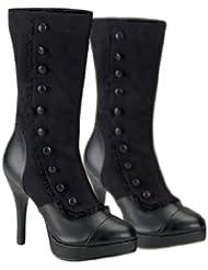 Splendor Adult Boots (Black) (Womens Adult 9)