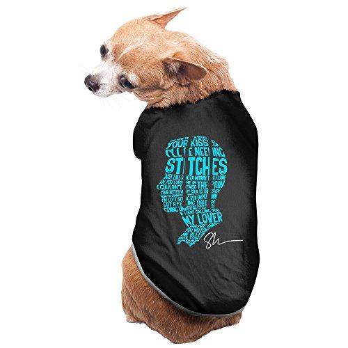 Shawn Mendes Handwritten Pet Dog Costumes Custom Pet Supplies