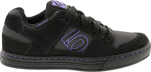 Five Ten Freerider Women's Flat Pedal Shoe: Black/Purple 8