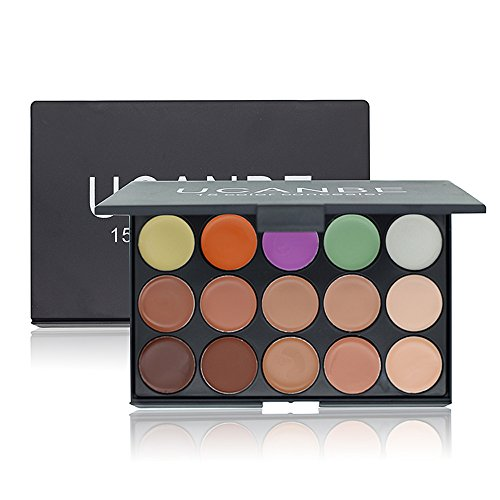 Ucanbe New 15 Colors Concealer Camouflage Makeup Palette Professional Contour Face Contouring (The Makeup Corrector Pencil)