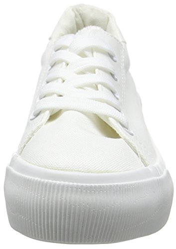 Sole White Look Estar Blanco para Zapatillas Molossal Mujer de Double por Casa New qtn7Tw6n