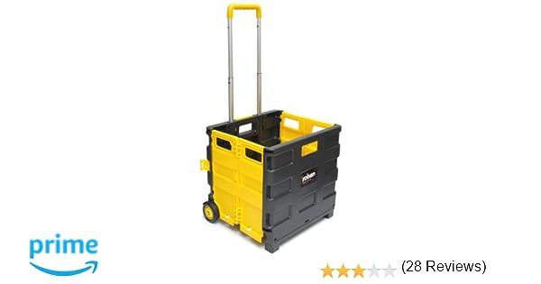 Rolson Tools 68900 - Carretilla con caja de transporte plegable (25 kg): Amazon.es: Industria, empresas y ciencia