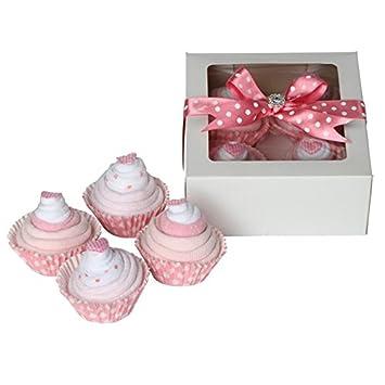Baby Sock Cupcakes Baby Girl Gift Set / New Baby Girl Gifts / Baby ...