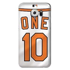 S6 Edge Case, MLB - Baltimore Orioles Adam Jones #10 - Samsung Galaxy S6 Edge Case - High Quality PC Case