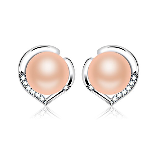 J Ros%C3%A9e Sterling Freshwater Cultured Earrings product image