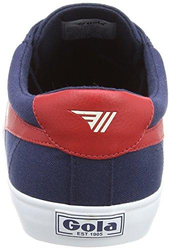 Navy para Hombre Zapatillas Gola Er Azul Varsity Red White ZqEwtxX