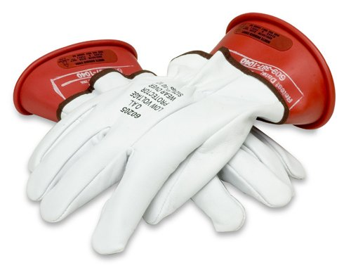 Cementex Igk0-14-8 High Voltage Gloves Kit Class 0 Sz-8 W/Cert