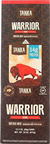 Bison Pemmican Meat Bar with Buffalo and Cranberries by Tanka, Gluten Free, Beef Jerky Alternative, Slow Smoked Original, 2 Ounce Bar, Pack of 12 by Tanka (Image #6)