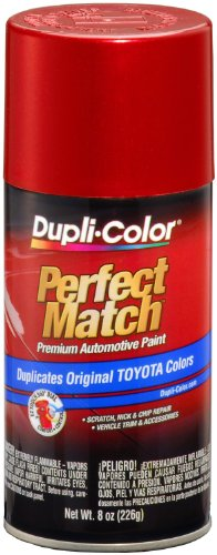 Red Pearl Acrylic Lacquer - Dupli-Color BTY 1609 Red Pearl Toyota Exact Match Automotive Paint- 8 oz. Aerosol