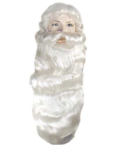 Santa Beard and Wig Set (Child Santa Wig And Beard)