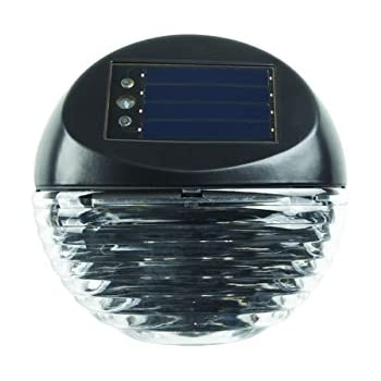 Duracell Solar Puck Outdoor Led Stair Light44 Pack Of 4