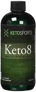 KetoSports Keto8 Dietary Supplement, 12 Fluid Ounce