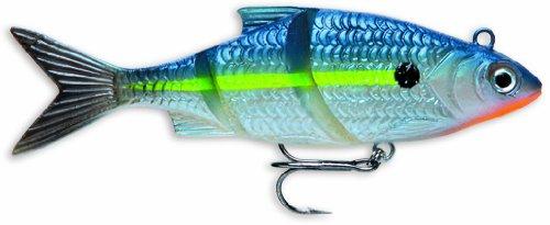 Storm Live Kickin' Shad 05 Fishing Lure, Blue Steel Shad