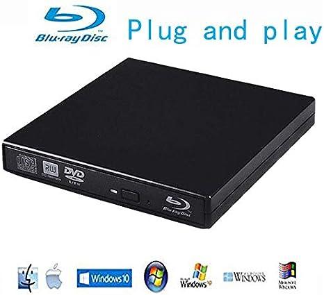 Amazon Com Blu Ray Player External Usb Dvd Rw Laptop Burner Drive Computers Accessories
