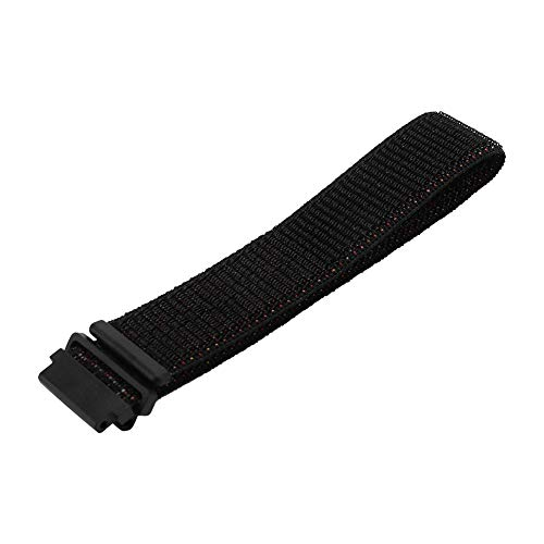Clina Nylon Watch Strap Replacement Watch Strap Adjustment for Samsung Gear S2 Classic(Black)