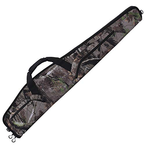 Kylebooker Scoped Rifle Cases Tactical Shotgun Gun Bag (48inch, Camouflage)