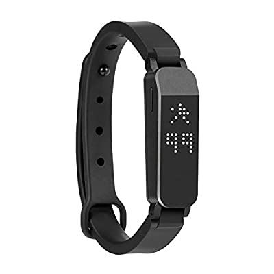Zikto Fitness Tracker, Posture Adjustment Activity Tracker Fitness Wristband Sleep Monitor Step Counter Smart Band