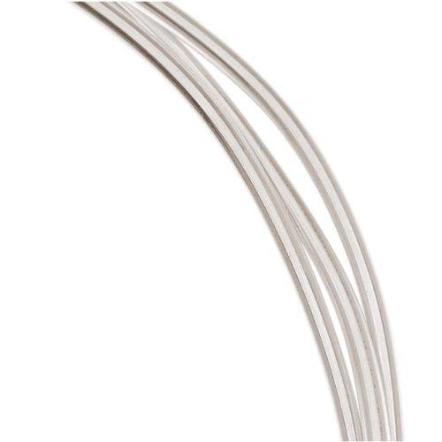 1 Oz. (3 Ft.) 99.9% Fine Silver Wire 12 Gauge Round Dead Soft