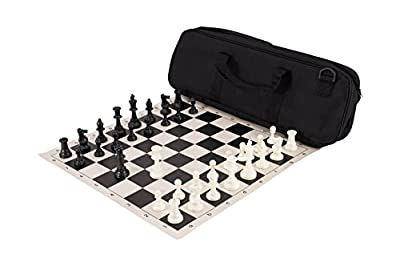 Deluxe Chess Set Combination - Triple Weighted - by US Chess Federation