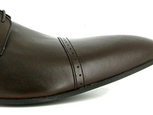 J.Bradford - zapatos hombre ADAM MARRON