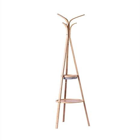 SDFGH Perchero de bambú, Perchero, árbol, Ropa, Sombrero ...