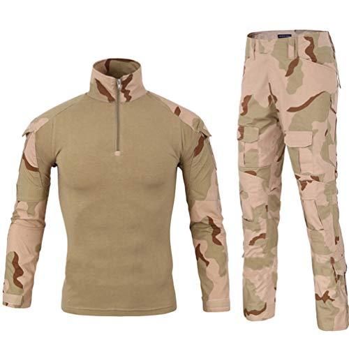 YuanDiann Homme Tactique Uniformes De Camouflage 2 Pièces Ensembles Militaire Costume Armée Chasse Pantalon Respirant… 1