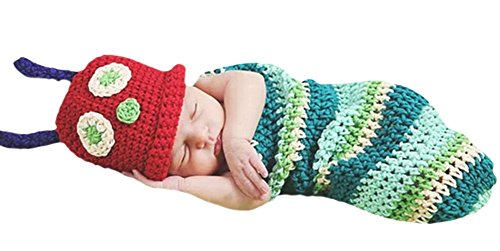 Halloween Baby Infant Cute Little Beatle Costumes Sleeping Bags 3-6 Month ()