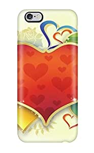 Love Heart Abstract Graphics Feeling Iphone 6 Plus On Your Style Birthday Gift Cover Case