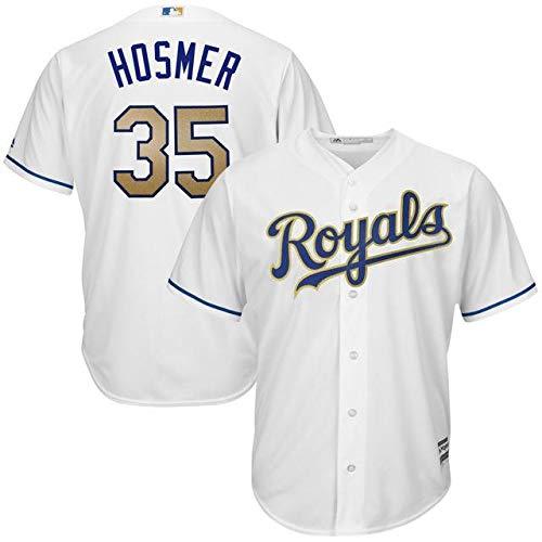Majestic B07GNV2WF5 Majestic Eric Replica Hosmer Kansas City Royals スポーツ用品 White 2017 Home Cool Base Replica Jersey スポーツ用品【並行輸入品】 XXL B07GNV2WF5, P&LUXE:39ef5e6c --- cgt-tbc.fr