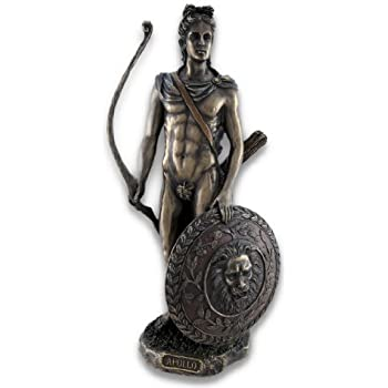 Amazon.com: Roman/Greek God Apollo with Shield and Bow ...