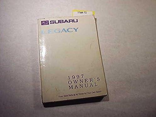1997 subaru legacy owners manual subaru amazon com books rh amazon com 1997 subaru legacy outback service manual pdf 1997 subaru legacy outback owners manual pdf