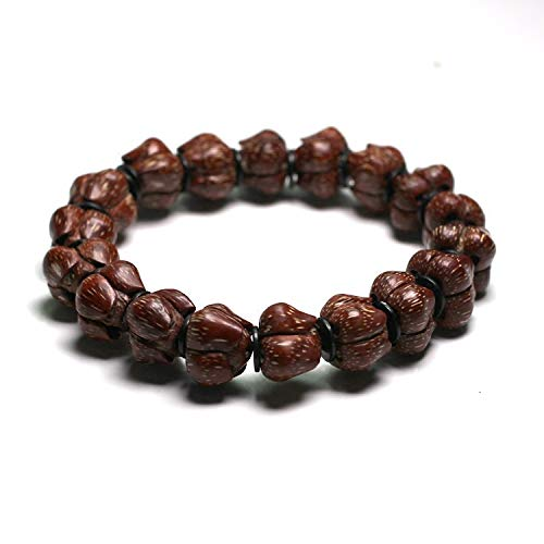 ATR Fine Short Pile Dripping Blood Lotus Bodhi Beads Holding Hand-Collected Collection of Carved Hollow Blood Red High Throw,A,Bracelet